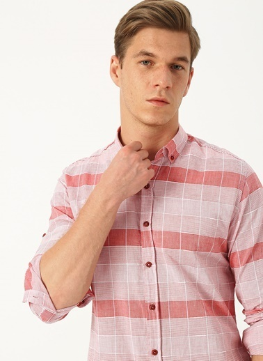 Twister Twister Jeans Kırmızı Uzun Kollu Gömlek Mor